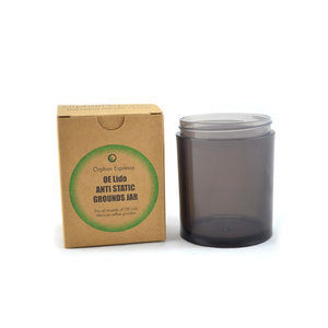 Orphan Espresso OE Lido Anti Static Grounds Jar
