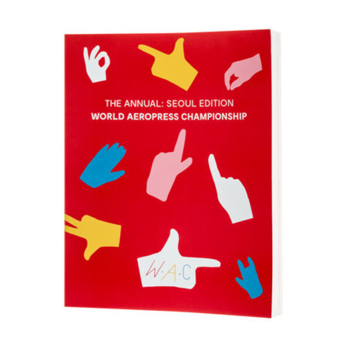 Aeropress World Aeropress Championship 2017 edition book