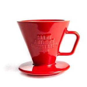 Saint Anthony Industries Saint-Anthony Industries C70 Ceramic Dripper Red