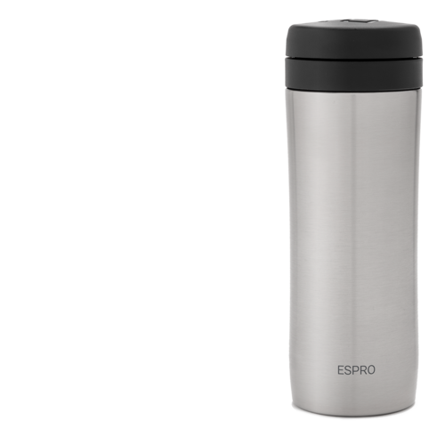 Espro Espro Coffee Travel Press - Brushed 300ml