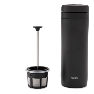 Espro Espro Coffee Travel Press Meteorite Black