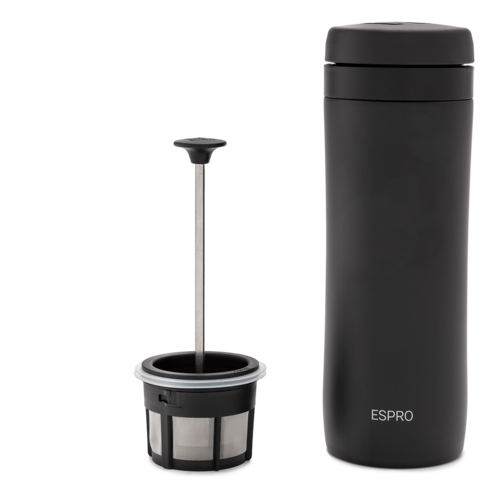 Espro Espro Coffee Travel Press Meteorite Black 300ml