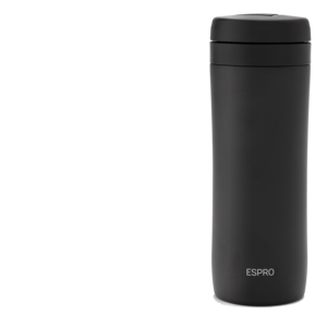 Espro Espro  Coffee And Tea travel press Black  300ml ( 1 Coffee & 1 Tea filter included)
