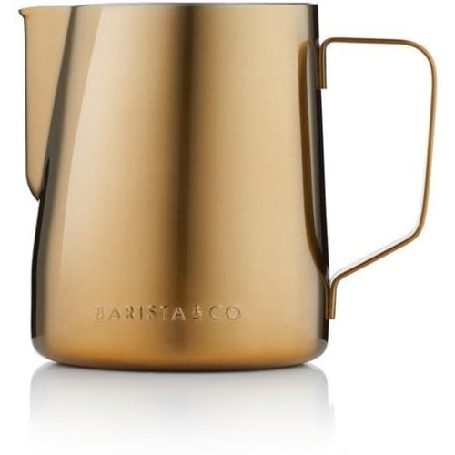 Barista & Co Barista & Co Melkkan Core - RVS - 600 ml - Goud