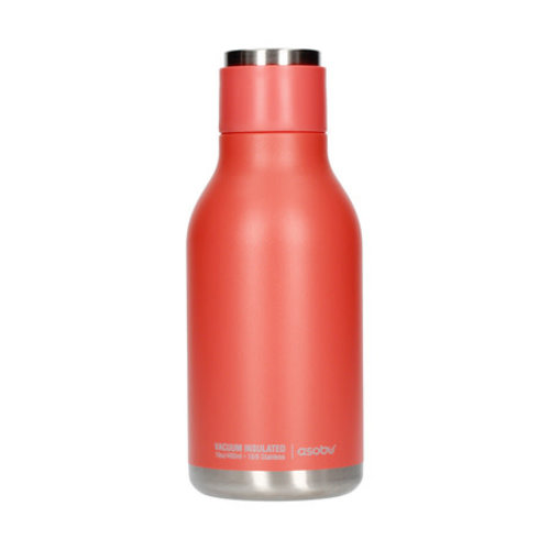 Asobu Asobu - Urban Water Bottle Peach - 460ml Travel Bottle