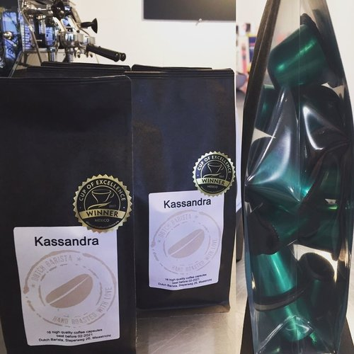 Dutch Barista Coffee Kassandra - Mexico Cup of Excellence (lot 2) Cups  16 pieces