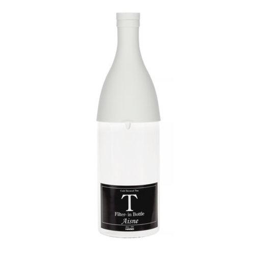 Hario Hario Aisne Cold Brew Tea Filter-In Bottle - Gray PGR