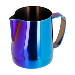 Barista Space Barista Space - 350 ml blauw/Regenboog melkkan