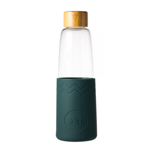 SOL Sol - Deep Sea Green Bottle + Cleaning Brush + Bag