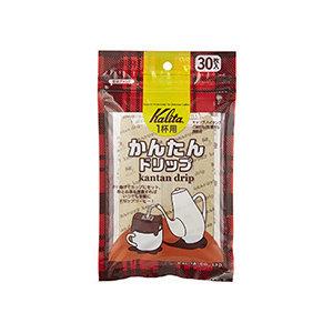 Kalita Kalita Kantan dripper verpakking 30 stuks
