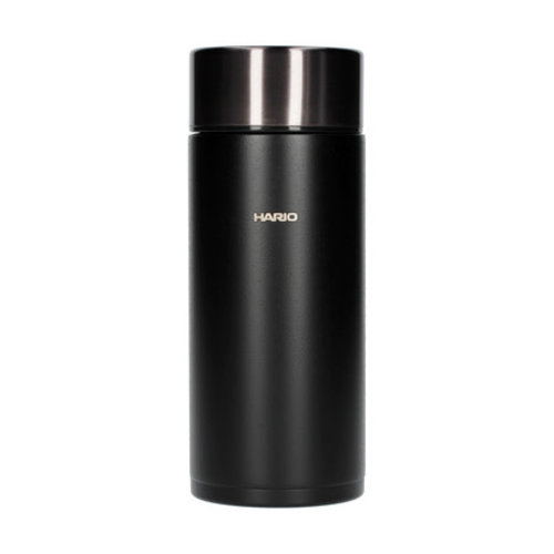 Hario Hario Stick Bottle - zwarte thermos fles  - 350ml