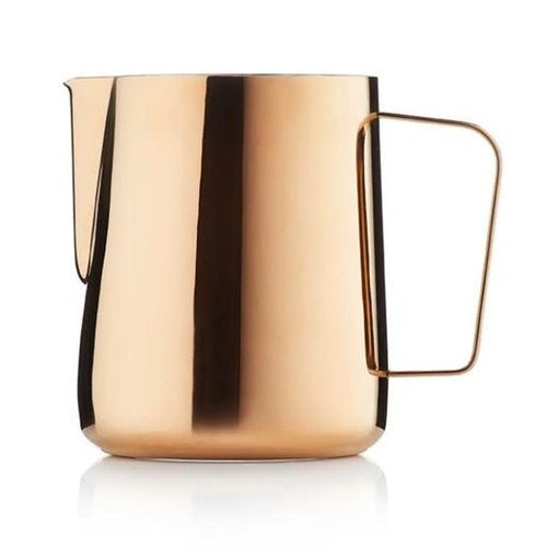 Barista & Co Barista & Co Core Titanium coated Milk Pitcher 600ml Rose Brass
