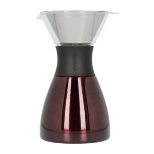 Asobu Asobu - Pourover Insulated Coffee Maker - rood/zwart