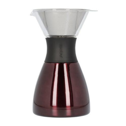 Asobu Asobu - Pourover Insulated Coffee Maker - Red / Black