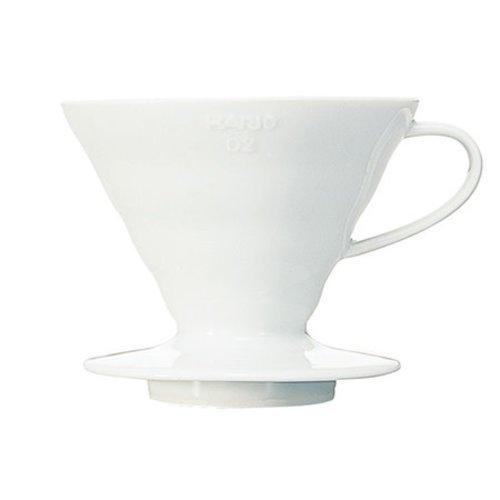 Hario Hario  Bloom - V60-02 Porseleinen koffiefilterhouder + 40 papieren filters