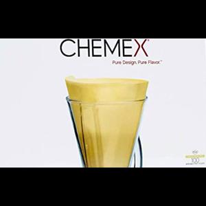 Chemex CHEMEX® papieren filters naturel 3 kops