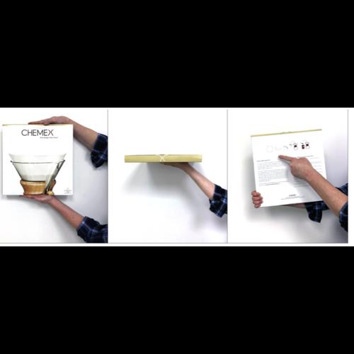 Chemex Chemex Bonded Filters Full Circle unfolded - FP-1 (6-8-10 kops)