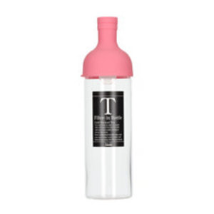 Hario Hario Cold Brew Tea Filter-In Bottle - 750 ml Pink