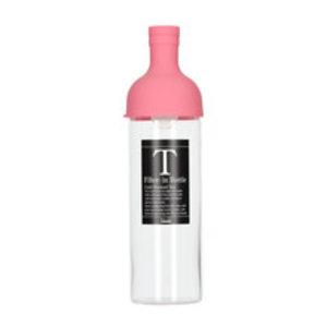 Hario Hario filter in bottle ijsthee fles - 750 ml roze