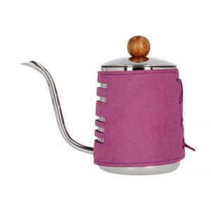 Barista Space Barista Space - opschenkkannetje met paarse sleeve 550ml