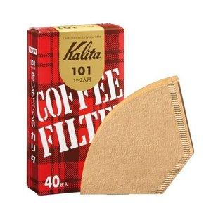 Kalita 101 Coffee Filter Brown 40 pc