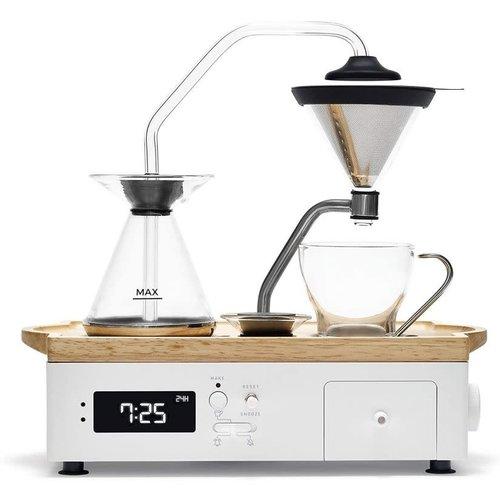 Joy Resolve Barisieur Coffee & Tea Alarm Clock white
