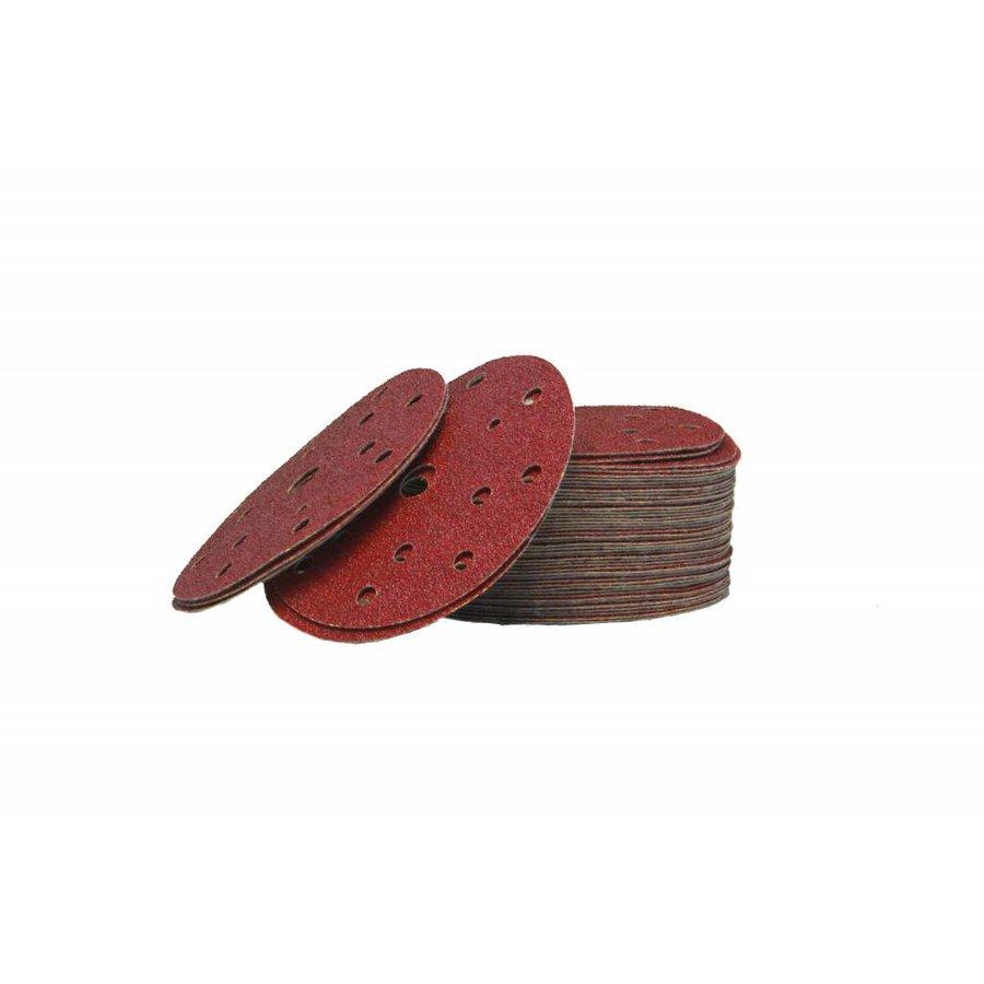 Schuurschijf rood 150mm  los-1
