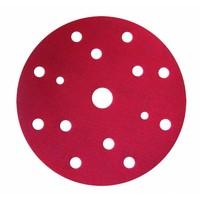 thumb-Schuurschijf rond 150mm  doos  100st rood t/m p800-2