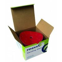 thumb-Schuurschijf rond 150mm  doos  100st rood t/m p800-1