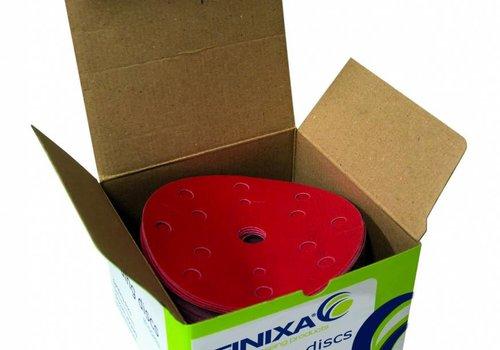Finixa Schuurschijf rond 150mm  doos  100st rood t/m p800