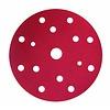 Schuurschijf rond 150mm  doos  100st rood vanaf P1000