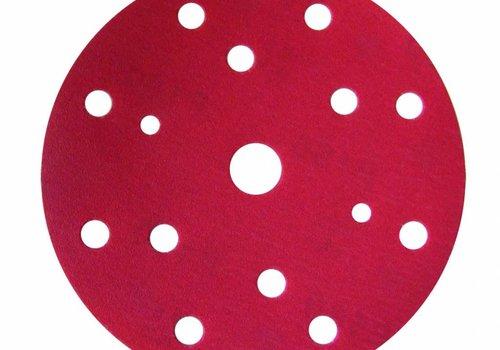 Finixa Schuurschijf rond 150mm  doos  100st rood vanaf P1000