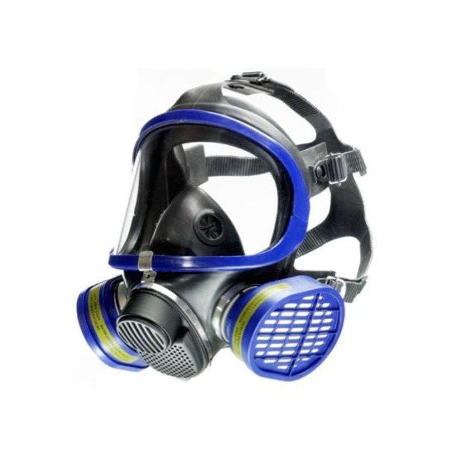 Koolstof Masker X5500 volgelaat Polycarbonaat zonder filters-1