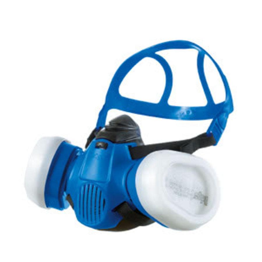 Koolstof Masker X3500 halfgelaat zonder filters-1
