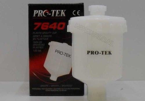 Protek Bovenbeker 125ML voor mini verfspuit