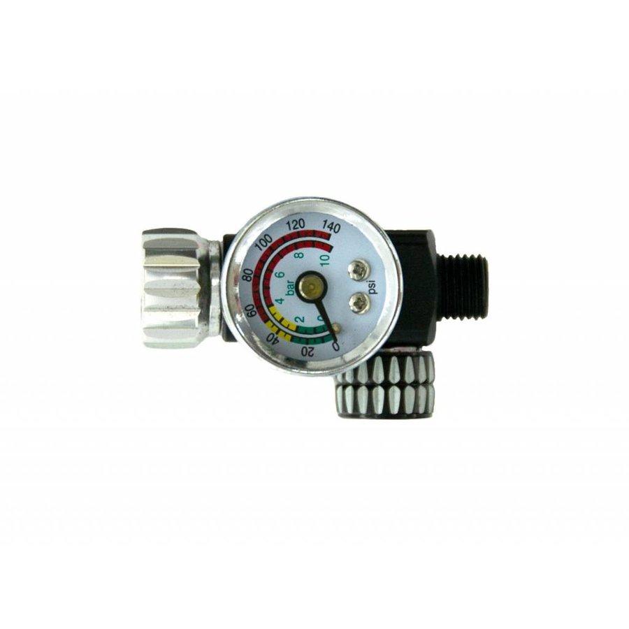 Luchtdrukmanometer voor onder verfspuit-1