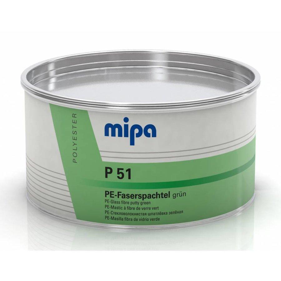 Vezelplamuur groen P51-1