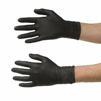 thumb-Nitrile handschoenen 60st zwart-2