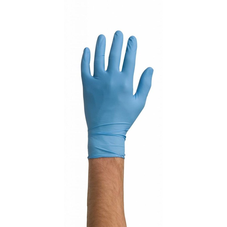 Nitrile handschoenen 100st blauw-1