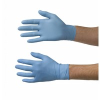 thumb-Nitrile handschoenen 100st blauw-2
