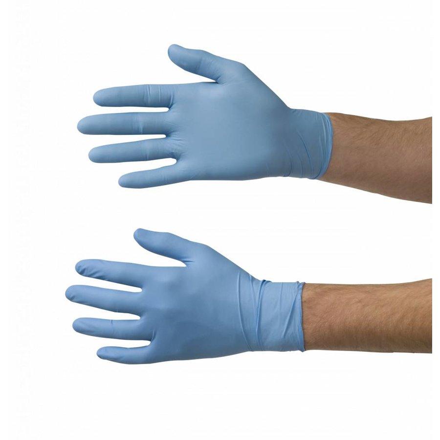 Nitrile handschoenen 100st blauw-2