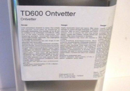 Interchem TD600 ONTVETTER NEUTRAAL 5ltr