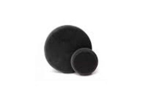 Finixa Polijstpad zwart zacht 80mm
