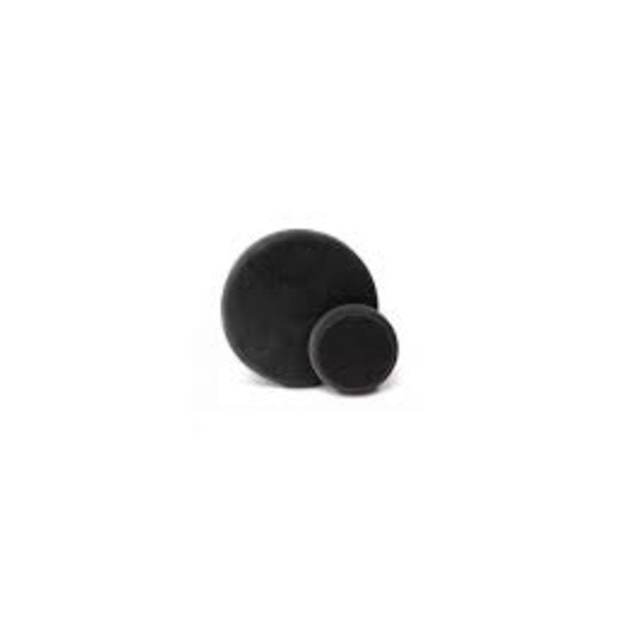 Polijstpad zwart zacht 80mm-1