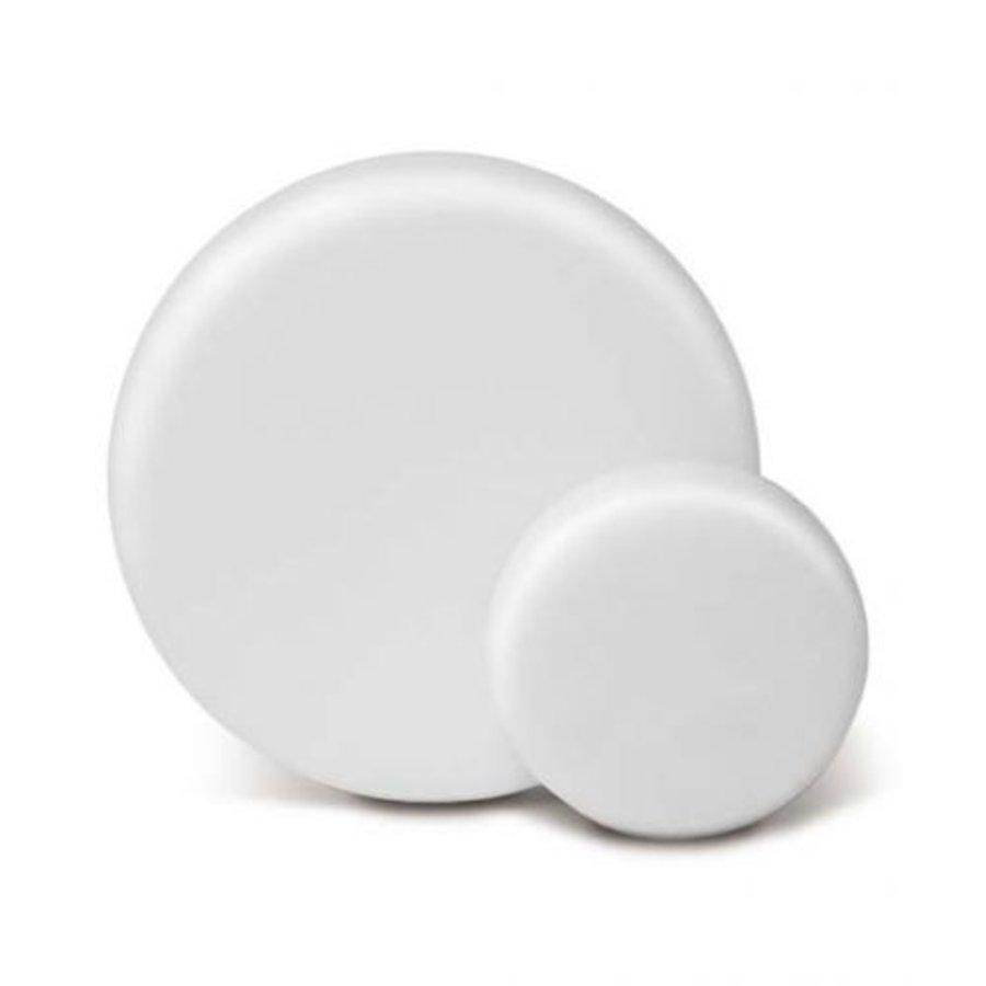 Polijstpad wit medium 80mm-1