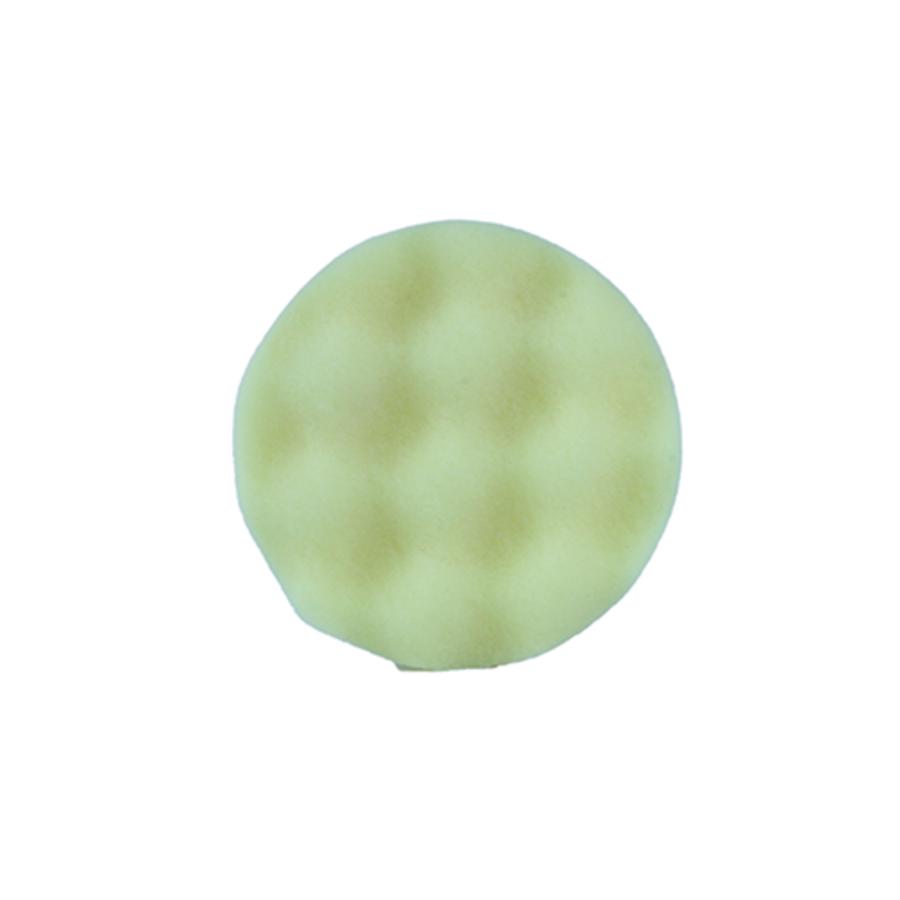 Polijstpad geel 75mm-1