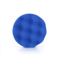 thumb-Polijstpad blauw 75mm-1