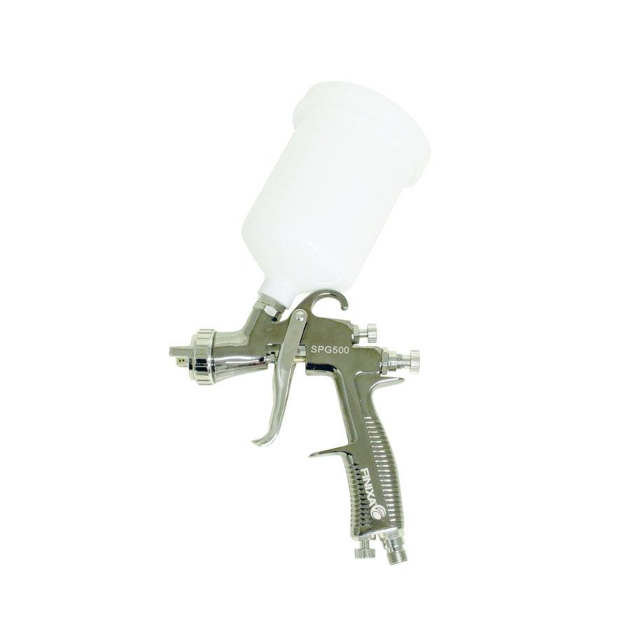 Spuitpistool zwart Incl. beker zonder nozzle-1