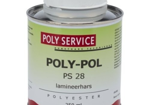 Polyservice Polyester lamineer hars excl. harder