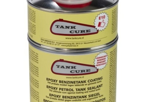 Polyservice Tank cure coating set